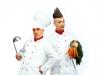 Edd und Lefou als Köche